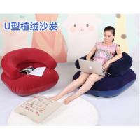 充气懒人沙发单人加厚可折叠儿童座椅家用休闲沙发便携式加厚新品