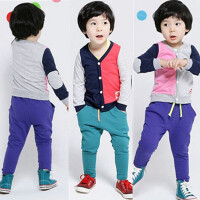 *儿童装男童卫衣套装宝宝休闲运动小孩衣服2018新款春秋装潮