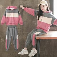 女童秋冬装套装2019新款洋气网红儿童装加厚加绒中大童女孩潮时髦