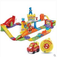 Vtech伟易达神奇轨道车智能遥控赛道竞技版迷你遥控赛车男孩电动玩具