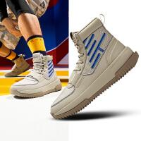 【限时秒杀!】安踏篮球鞋男鞋官网冬季新款汤普森高帮篮球鞋战靴运动鞋11941806