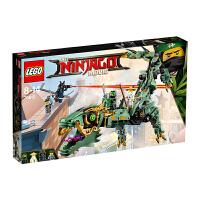 【当当自营】乐高(LEGO)积木 幻影忍者Ninjago 玩具礼物8-14岁 绿忍者的飞天机甲神龙 70612