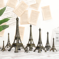 欧式复古埃菲尔铁塔建筑模型摆件客厅玄关酒柜装饰品创意家居摆设