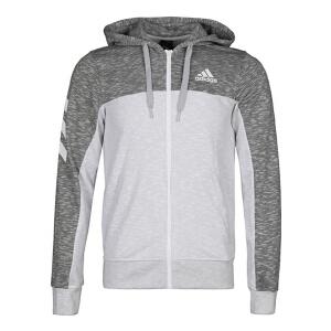 adidas阿迪达斯2018男子PCK UP FZ SHTR 连帽夹克针织外套CW9655