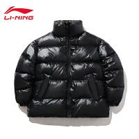 李宁COUNTERFLOW-源系列短羽绒服男女同款保暖冬季白鸭绒运动服