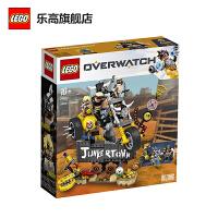 【当当自营】LEGO乐高积木守望先锋Overwatch10岁+75977 礼物狂鼠与路霸