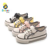 芭芭鸭儿童板鞋男童小白鞋女童反光鞋网红运动鞋2020春季新款童鞋
