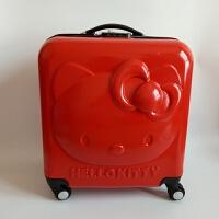 儿童拉杆箱20寸女孩万向轮旅行KT猫登机箱 20寸