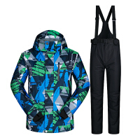 冬季滑雪服男套装韩国单板双板滑雪衣裤防风防水防寒加厚保暖大码新品