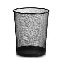 普润(PU RUN) 加厚垃圾桶防绣铁丝网办公室家用铁网纸篓垃圾袋