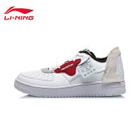 李宁CF休闲鞋男鞋2020新款解序休闲板鞋经典时尚男士低帮运动鞋AGCQ315