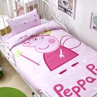 南极人幼儿园被子三件套纯棉午睡棉被褥全棉六件套床上用品含芯儿童冬被