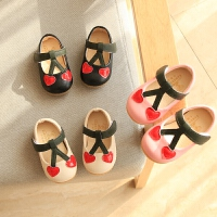 女宝宝鞋子春婴儿软底学步鞋0-1-2岁小童公主皮鞋