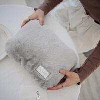 月经暖水袋 热水袋充电热宝��宝宝萌萌可爱电暖宝毛绒防爆暖水袋暖手宝