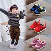 小童运动鞋1一5岁女孩儿童鞋子男童软底学步鞋潮