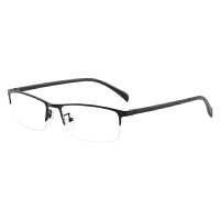 商务防蓝光眼镜护眼平光镜男女近视防辐射电脑镜合金镜框TR90镜腿