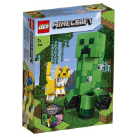 【当当自营】LEGO乐高积木 我的世界系列21156 2020年1月新品 大人仔爬行者和豹猫