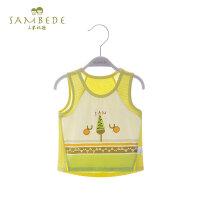 三木比迪 男童宝宝背心夏季薄款婴儿童婴幼儿小童内穿上衣打底衫