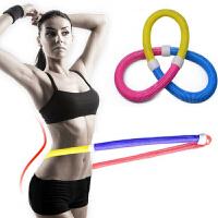 呼啦圈女士收腹呼啦圈健身健身器材弹簧软加重呼拉圈