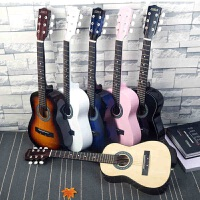 初学者学生儿童30寸民谣木吉他单板新手入门38寸可弹奏练习乐器