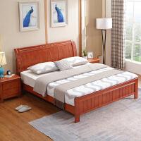 简易经济型出租房新中式1.5m现代简约主卧1.8米单双人床1.2 床+床垫+2床头柜( 备注颜色) 1500mm*19