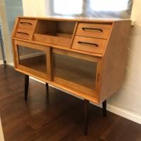 北欧实木餐边柜酒柜现代餐具柜简约实木客厅边柜厨房储物收纳柜 双门