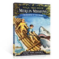 顺丰发货 英文原版小说 Magic Tree House Merlin Missions: Shadow of the