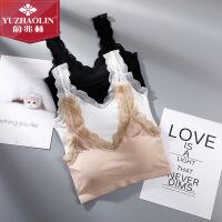 俞兆林春夏新款女士塑形美背裹胸纯色条纹性感蕾丝舒适亲肤文胸Ⅱ