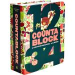 英文原版绘本 Countablock 创意数字 纸板书 益智游戏认知书系列 镂空设计 (Alphablock姐妹篇)