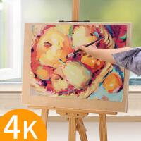 素描4k水粉手提四开成人写生8k实心画板美术儿童初学者小学生木质
