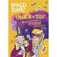 查理和巧克力工厂 英文原版 罗尔德达尔 贴纸书Roald Dahl's Charlie and the Chocola