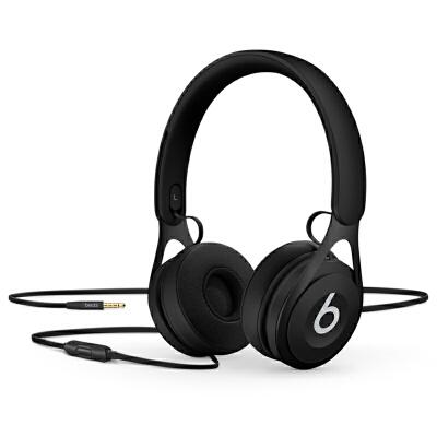 [当当自营] Beats EP 头戴式耳机 含线控麦克风 黑色 ML992PA/A可使用礼品卡支付 国行正品 全国联保