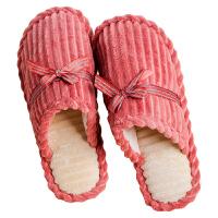 冬季棉拖鞋男女厚底情侣韩版居家居室内防滑保暖冬天可爱月子