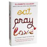 一辈子做女孩 英文原版 英国版  Eat,pray,love 英文 Elizabeth Gilbert(伊丽莎白・吉尔伯特)著