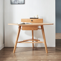书桌简约电脑桌墙角小桌写字桌单人家用小桌子北欧实木 否