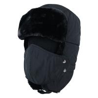 帽子冬季户外防寒骑车棒球帽男士韩版潮滑雪防风保暖帽雷锋帽