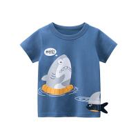 宝宝薄款短袖T恤男童半袖夏装儿童上衣