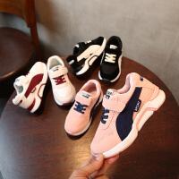 春秋儿童运动鞋透气网面女童鞋男童跑步鞋宝宝休闲鞋