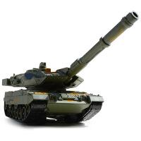 凯迪威合金军事模型德国豹2A6主战坦克车带声光回力儿童玩具车