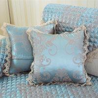 福存家居 沙发抱枕腰枕办公椅腰垫床头靠垫布艺含芯午睡枕