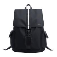 韩版双肩包男士休闲旅行包大容量学生书包校园电脑包时尚潮流背包 62043黑色