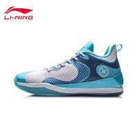 李宁篮球鞋男鞋韦德系列2020新款鞋子男士减震耐磨防滑低帮运动鞋