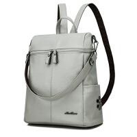 双肩包多功能两用真皮背包新款韩版潮百搭大容量旅游包旅行包