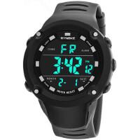 男士防水夜光大中学生多功能电子表计时运动手表闹钟腕表