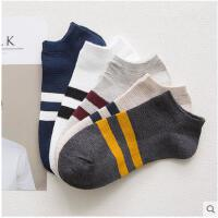 男士短袜夏季薄款袜子棉袜低帮浅口四季运动船袜网眼吸湿排汗袜子