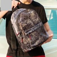 韩版潮流背包多功能男包 新款时尚帆布包休闲男士双肩包旅行背包