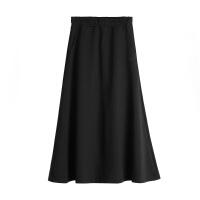 【361°限时2件4折】361度运动裙子女2018新款松紧腰透气舒适长裙针织时尚半身裙女