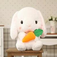 韩国可爱垂耳兔毛绒玩具兔子娃娃公仔公主睡觉玩偶生日礼物送女友