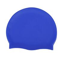 游泳帽 防滑硅胶 男女通用 纯色泳帽 通用 颜色随机送