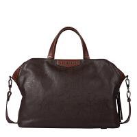 新款立正潮流休闲男包时尚手提包帆布男士包包单肩斜跨旅行包